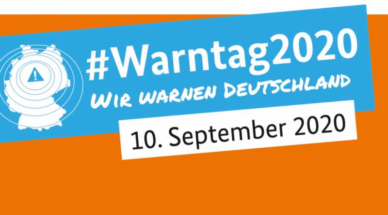 Warntag 2020 am 10. September