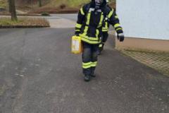 Atemschutzbelastungsübung